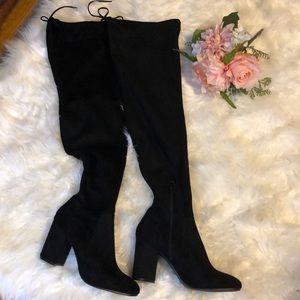 Maxi Boots Vegan Leather